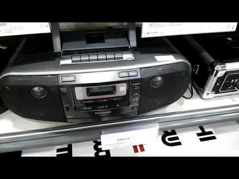 Король современных магнитофонов Panasonic RX-D55EE-K и другие магнитолы попроще.