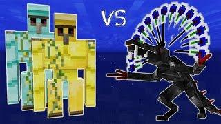 Големы-Гиганты VS Монстры-Гиганты! (Кайдзю) - Тихоокеанский Рубеж Майнкрафт