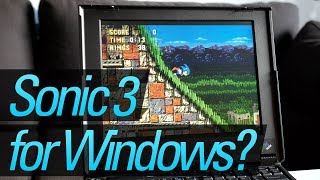 Sega Ported Sonic 3 & Knuckles...to Windows?