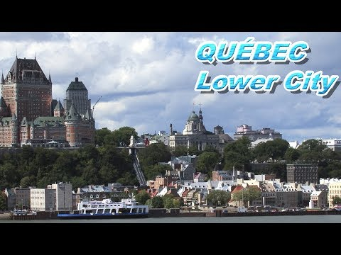 Quebec Historical Lower City Canada