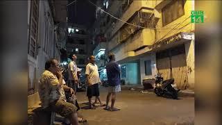 TP HCM: Dân di tản gấp trong đêm do chung cư bị nghiêng| VTC14