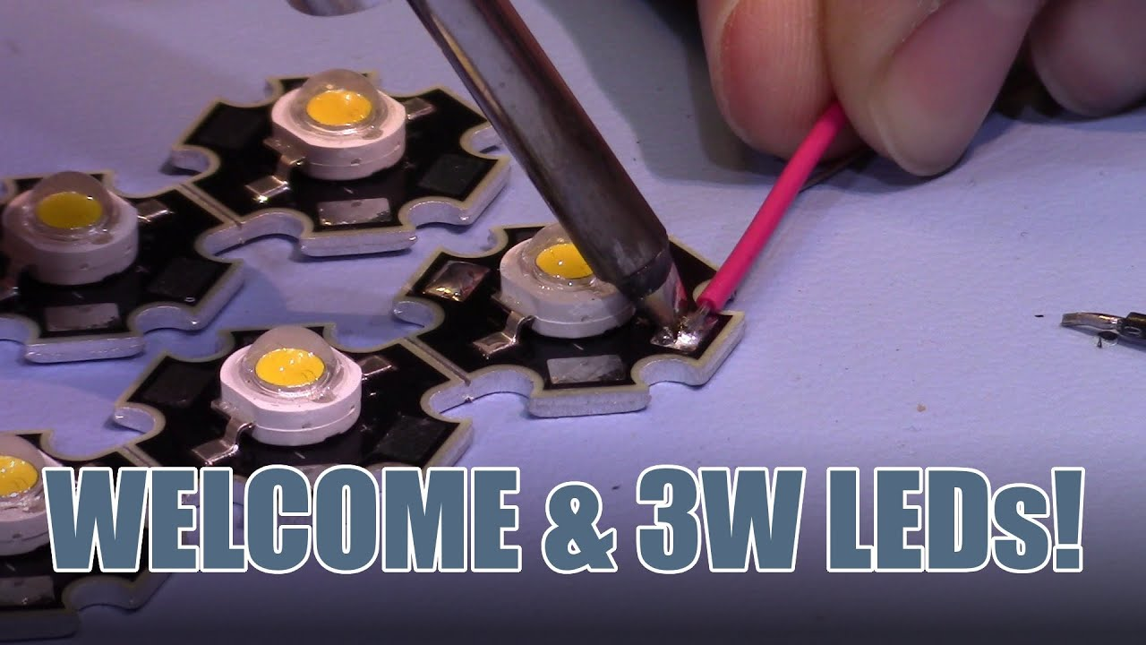 Sdgee 013 Welcome And Update On Cc Led Driver New 3w Leds Youtube Together With 10 Watt Circuit High Current