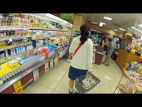 GoPro Japan: Supermarket Shopping