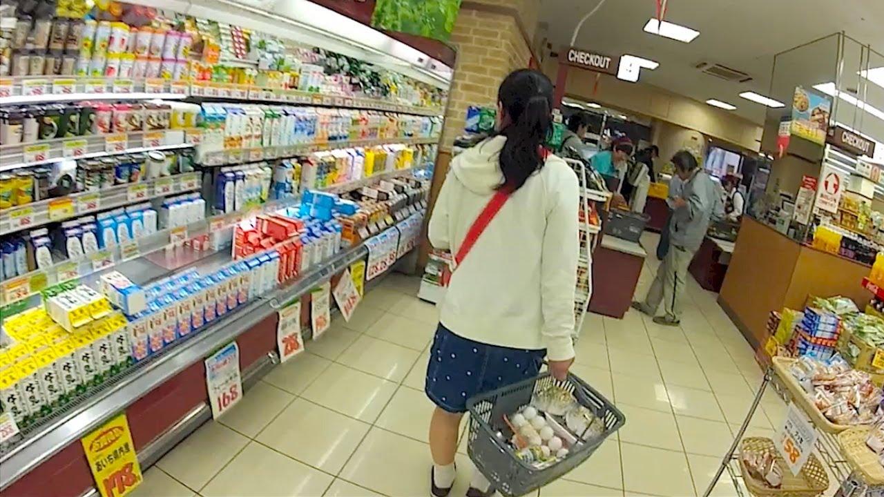 Gopro Japan Supermarket Shopping Youtube