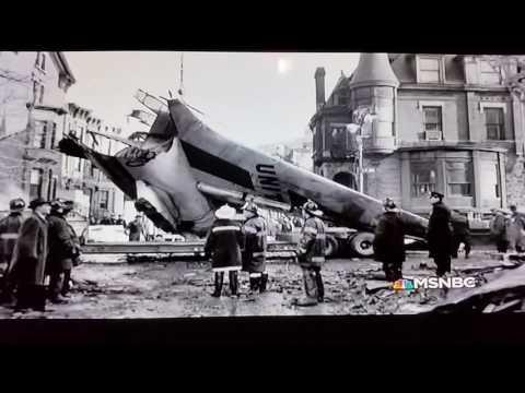Plane crash over Staten Island / Brooklyn 1960