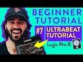 How to Use The Ultrabeat Plugin In Logic Pro X - How to Make a Drum Kit | 2018 Beginner Tutorial #7