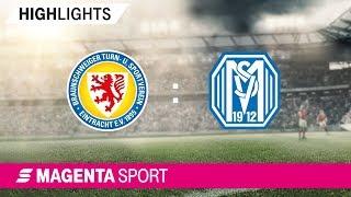 Eintracht Braunschweig - SV Meppen | Spieltag 29, 18/19 | MAGENTA SPORT