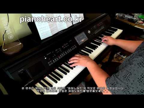 다비치(Davichi) - 움직이지마(Don't Move) 피아노 연주 with CVP-605