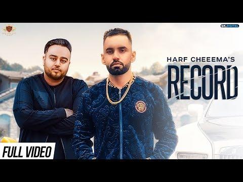 RECORD - Harf Cheema (OFFICIAL VIDEO) Deep Jandu/Rupan Bal