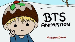BTS Animation - Have A Merry Bangtan Christmas!
