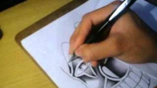 How to draw a joker clown face