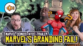 Marvel Comic's NYCC 2018 Panel Trailer is Pure Branding FAIL