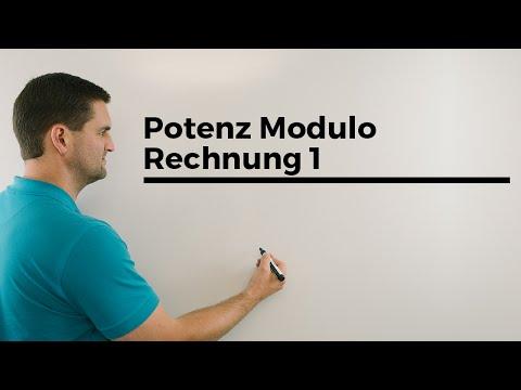 Potenz Modulo Rechnung 1, Modulo Operation, Unimathematik, | Mathe by Daniel Jung