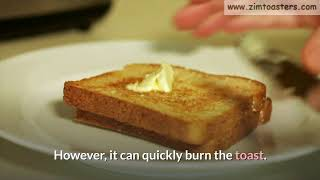 How to Make Toast in A Toaster…