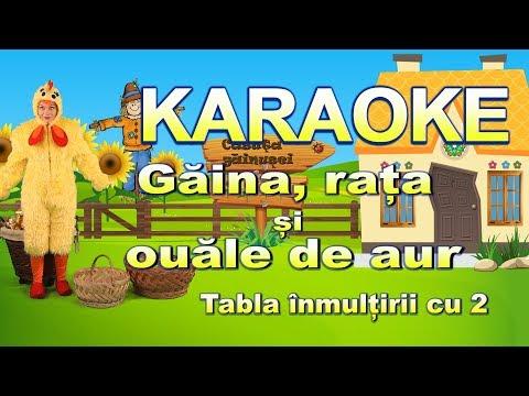 Dilu Dila TV- Gaina, rata si ouale de aur (karaoke tabla inmultirii cu 2)
