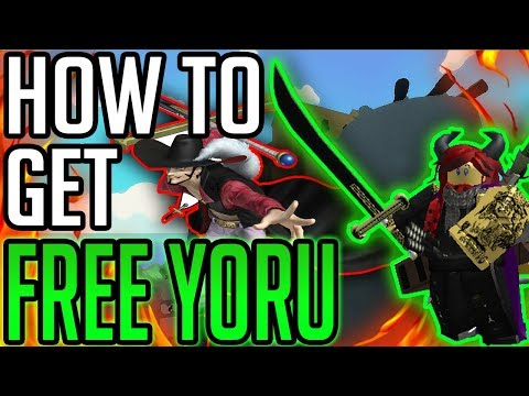 How To Get Yoru Free Pirate Conquest New Roblox One Piece