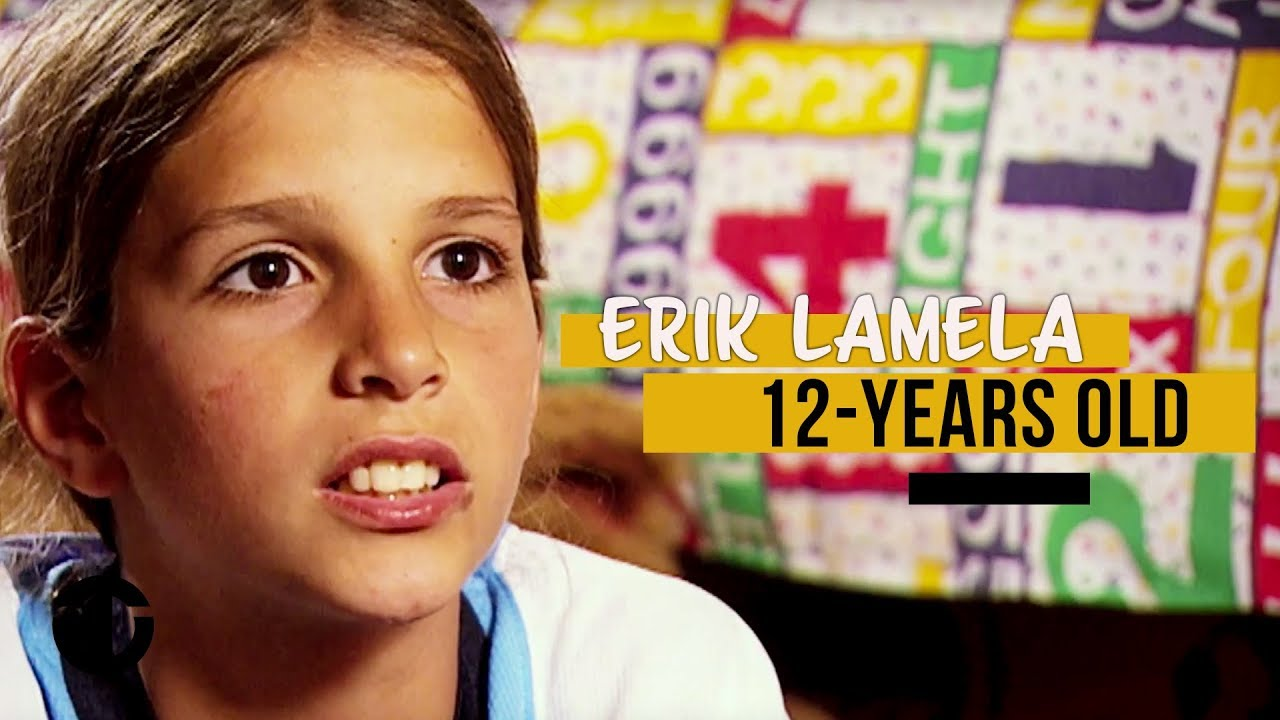 12-year-old Erik Lamela on Trans World Sport