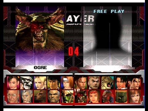 Unlock All Character In Tekken3 Using Mmc Memory Card In Psx Youtube