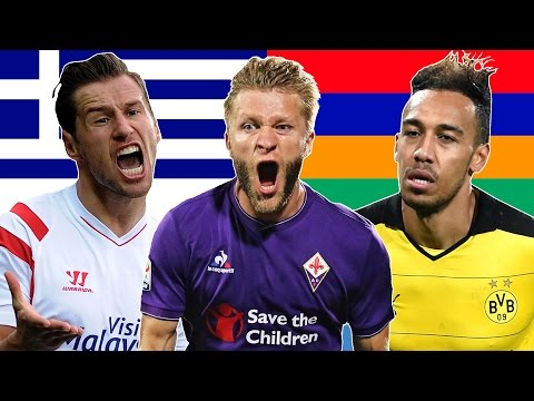 Pronouncing Difficult Footballers' Names
