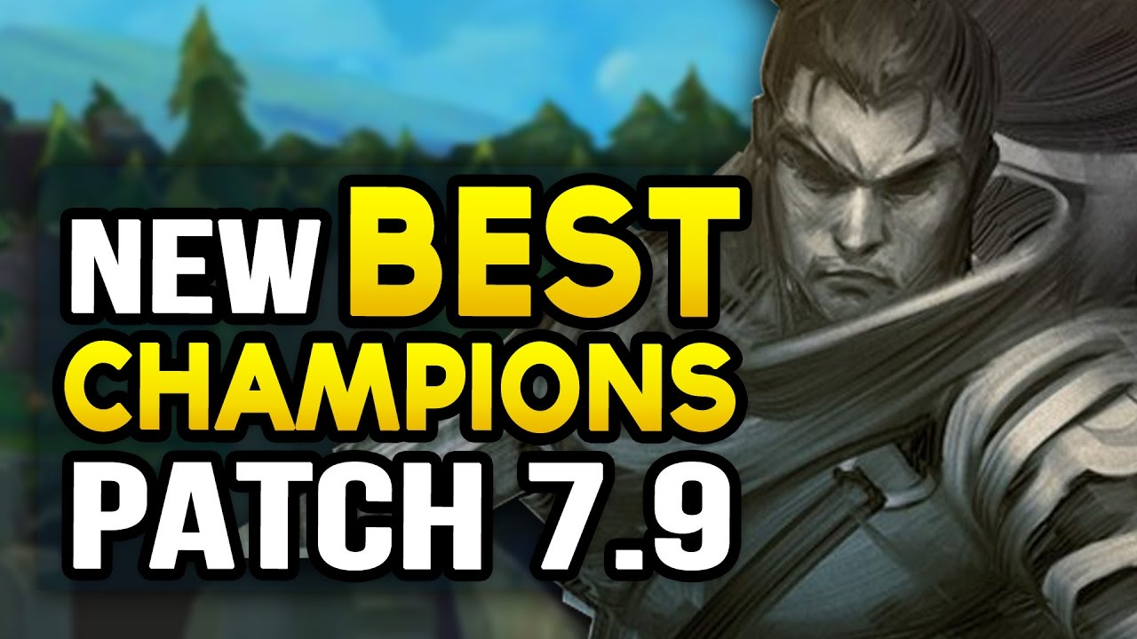New Best Champions In 7 9 Mid Season For Every Role League Of Legends Youtube