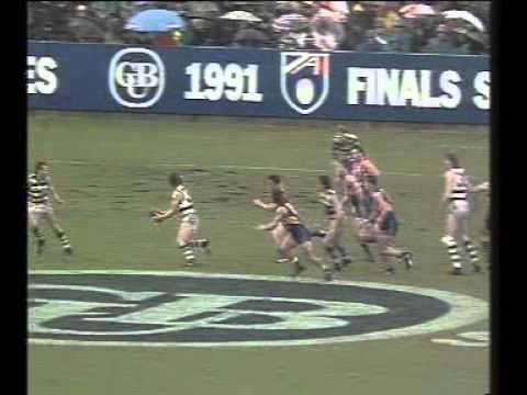 Preliminary Final 1991 West Coast Vs Geelong Youtube