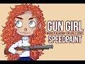 Gun Girl - Murder Academy For Girls Series (Speedpaint)