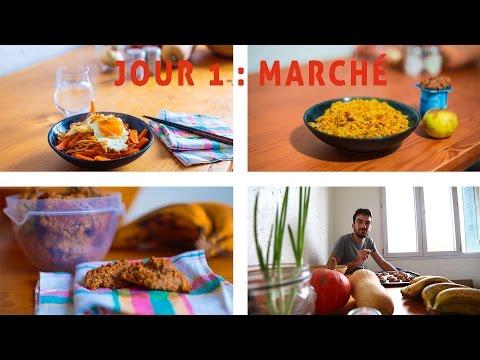 Vivre avec 1€ par repas - Jour 1 : Premières recettes