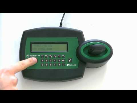 Clonation Of Car Keys And Remote Controls With Keyline RK60 - Standard Procedure