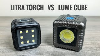 Litra Torch Light vs Lume Cube