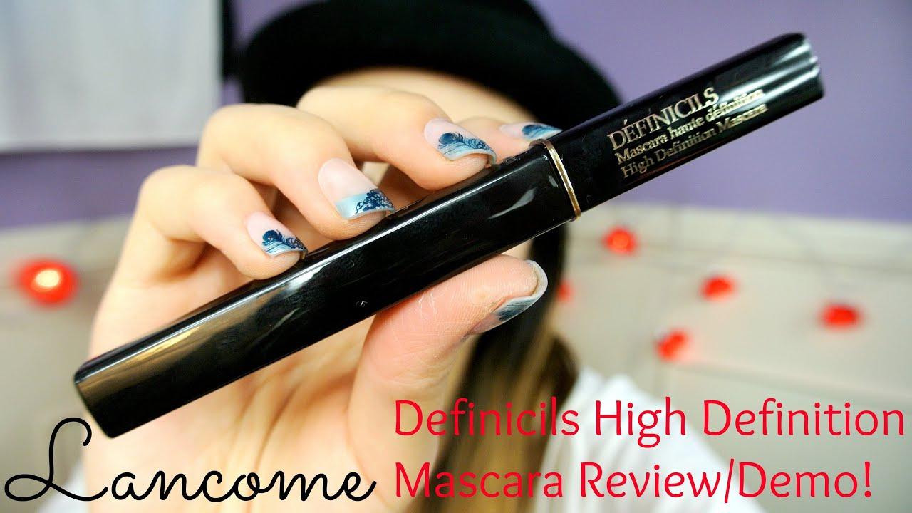 MMM}: Lancôme Definicil High Definition Mascara Review/Demo ...