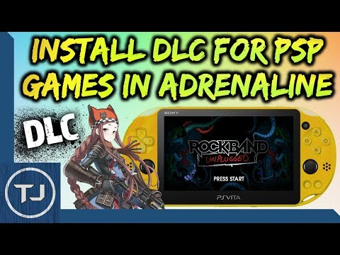 PS Vita Install DLC For PSP Games On Adrenaline! - Tech