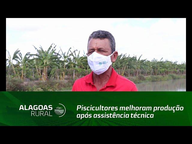 Piscicultores melhoram produção após assistência técnica e gerencial do Senar Alagoas