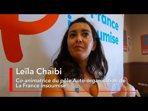 """Leïla Chaibi : c'est ce """"qui fait notre légitimité sur le terrain"""" #AMFiS2018"""