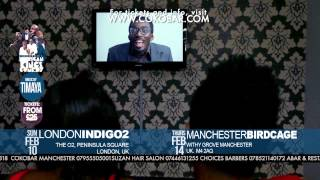 BASKETMOUTH amp BOVI - MAN OF GOD - African Kings of Comedy - Valentine 2013 Tkts wwwcokobarcom