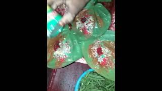 Special paan making in Bangladesh..  Masala paan.