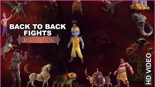 Little Krishna Back to Back Fights | HD | English
