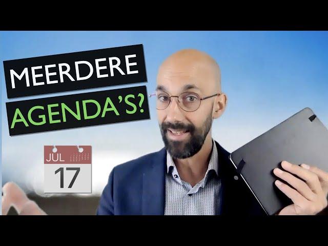 Meerdere agenda's? Tips om het overzicht te behouden