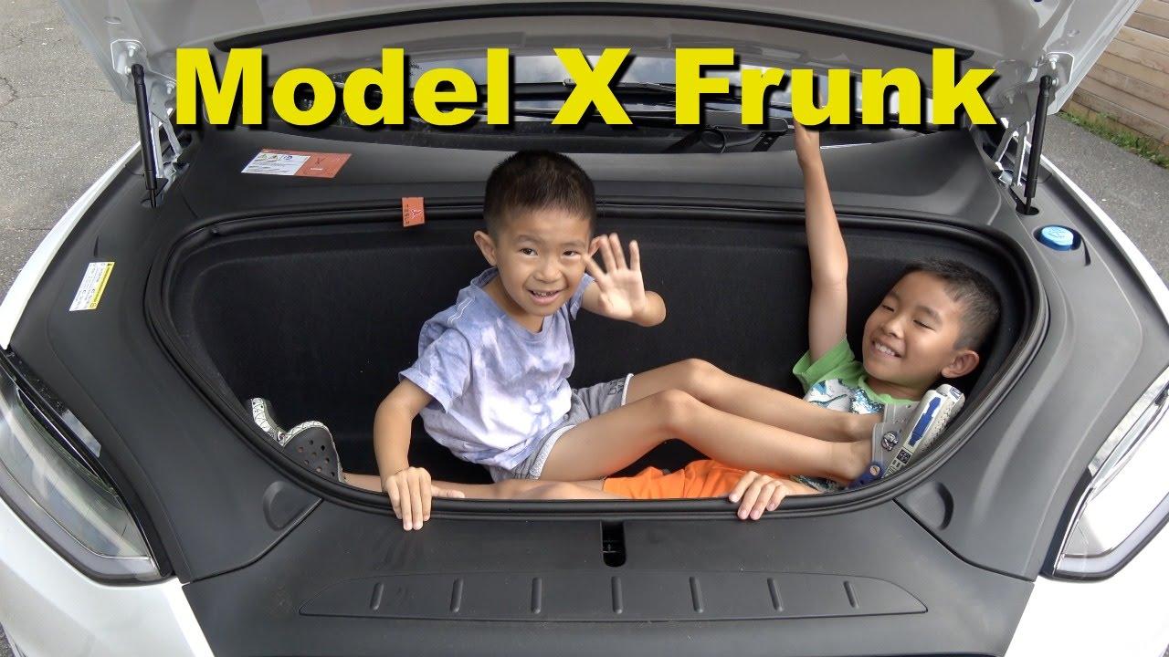 Image result for tesla model x frunk