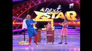 Miruna Porubiu ii imita pe juratii Next Star
