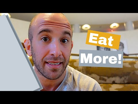 Why You Need to Eat More Calories