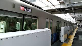 【ホームドア稼働前の所沢駅】西武新宿線30000系発車シーン