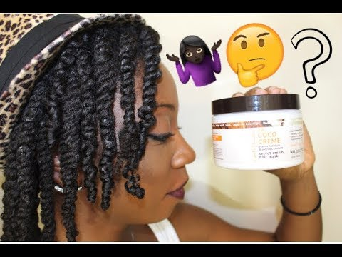 Carol's Daughter Coco Creme Velvet Cream Hair Mask Review | How I Know It's Not Working