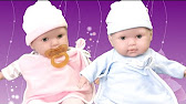 Сравнение кукол La newborn мальчика и девочки - YouTube