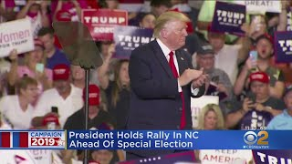 President Holds Rally In NC Ahead Of Special Election