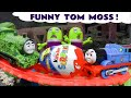 Funny Funlings Kinder Surprise Egg Prank with Thomas The Tank Engine by Tom Moss TT4U