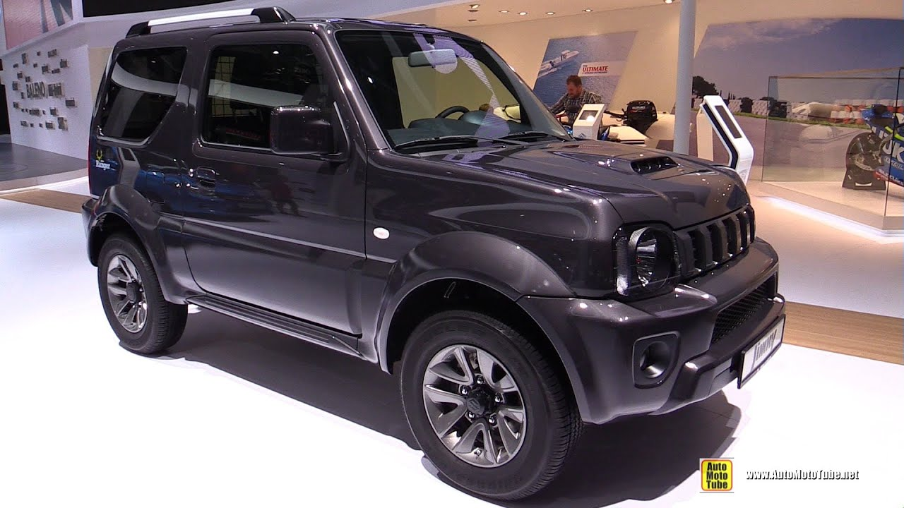 2016 suzuki jimny ranger exterior and interior walkaround 2015 frankfurt motor show youtube. Black Bedroom Furniture Sets. Home Design Ideas