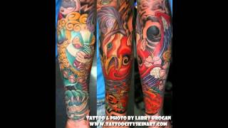 Foo Dog Tattoo Designs