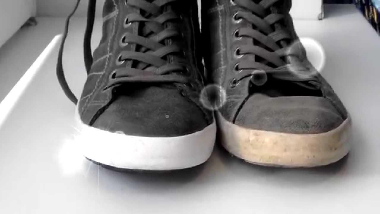 Как вернуть белый цвет кроссовкам
