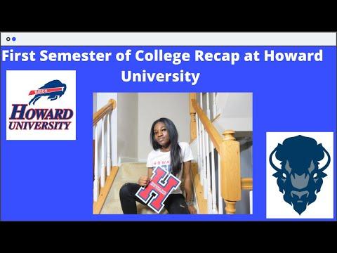 First Semester of College Recap at Howard University