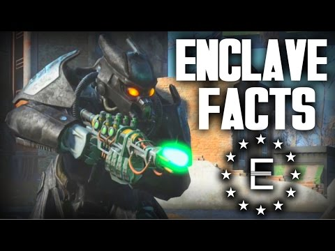 Fallout 4 - 5 Enclave Facts - Fallout Lore